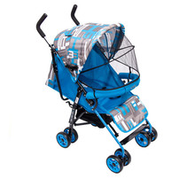 Polyester material and stainless steel frame material baby stroller
