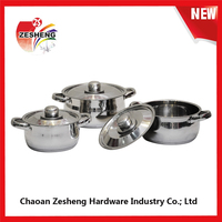 2015 new product stainless steel cookware set/stock pot/casserole China manufacturer kitchen accessory