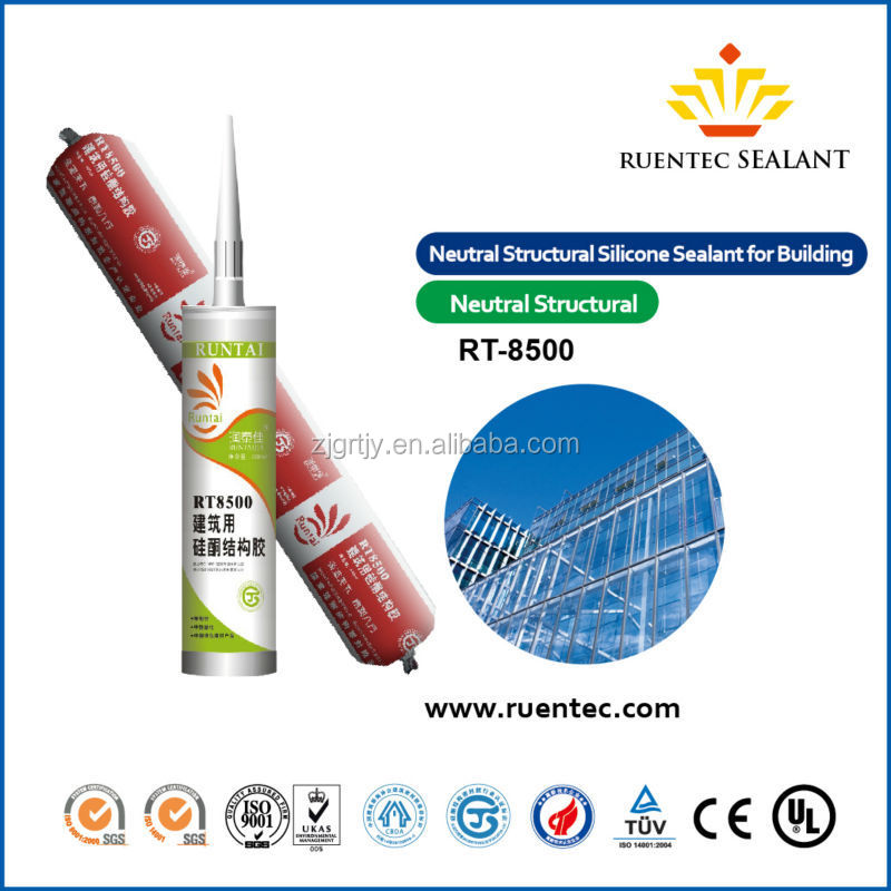 RT-8500 silicone sealant msds
