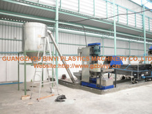 Dirty oily plastic PET bottle recycle machines manufacturer