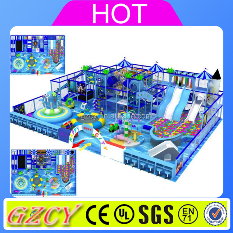 Kids Soft Play Games Naughty Castle/Kids Toy Indoor Playground with Ball Pool