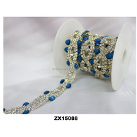 new design rhinestone shoes lace charm for the flat shoes