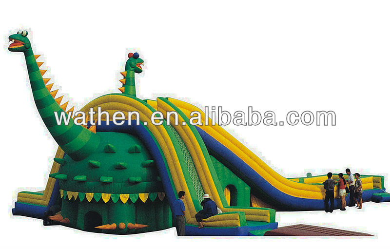 2015 Kids Interesting Inflatable Slide Castle
