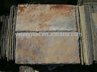 natural rusty roofing slate