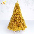 Gold Commercial PVC christmas tree
