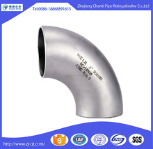 90 degree Stainless Steel 304 Long Radius Welded Elbow