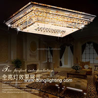 hot selling big crystal light hotel for hotel home villa