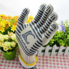Grill Beast BBQ Grilling Cooking Gloves - Heat Resistant Silicone Insulated Protection - Smoker and Kitchen Accessories