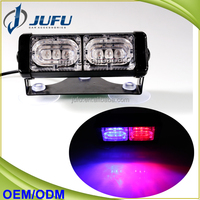 12V 6LED dash deck flashing warning light security car emergency strobe light