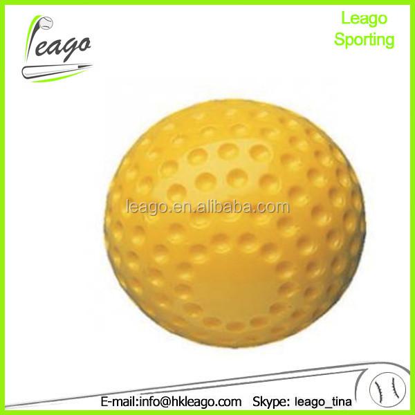 softball pitching machine balls