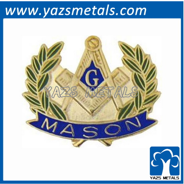 masonic hat lapel pin freemason metal craft