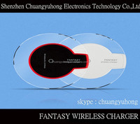2015 Hot Sale Cheap Wireless Charger Wireless Fast Charging Power Bank White Black Mini Portable