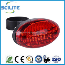 5 Led Rear Bike Light with 7-mode Used as Bike Safety Light or Bicycle Brake Light for Cycling