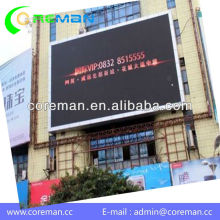 ali export from china best price high definition outdoor waterproof p6 smd,dip led advertisement display panel