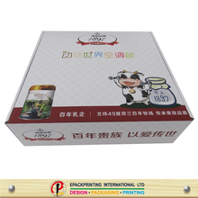 custom printed corrugated mailer packaging box