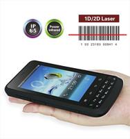 New Handheld Data Collector Android Wifi GPS GPRS Bluetooth 1d Barcode Scanner Color Screen Wireless Industrial POS PDA