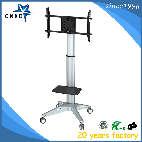 waterproof outdoor 360 degree rotating iron tv stand from manufacturer
