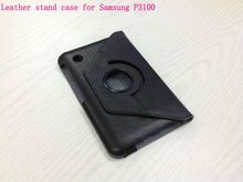 Digital Bags & Cases/Artificial PU leather 360 rotating case cover with strap for IPad Mini