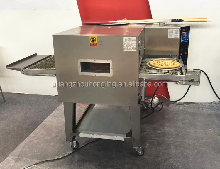 Restaurant Commercial Electric Conveyor Pizza Oven in Baking Equipment