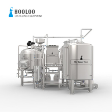 500L Premium 3 Vessels Brewhouse for Beer Fermentation Equipment