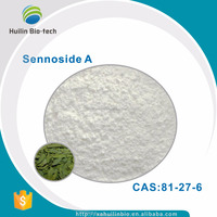 Organic Natural 98% Sennoside A senna leaf extract powder,CAS:81-27-6
