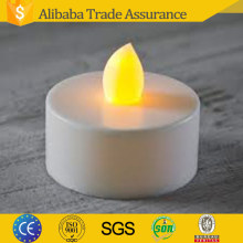 Yellow Flickering Flameless Electric Battery Operated mini led tea light candle