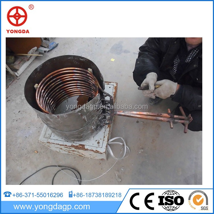 Made in china factory price good quality new pig iron melting induction furnace
