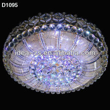 Decorative Fancy Crystal Round Led Ceiling Light