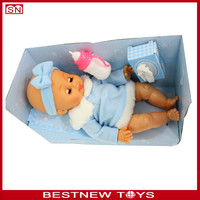 14' Sofubi doll newborn doll eats pees crying for wholesale
