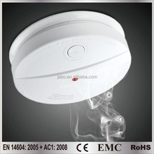 9V smoke alarm JB-S04 for home usage comply requirements of CE EN14604 CPR ROHS REACH