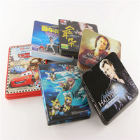 promotional DVD and CD tins, metal CD cases and other media packaging
