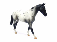 Appaloosa Horse Toy Figure/animal resin figure/resin action figure high quality