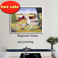 Baroque Gold Metallic 4 x 6 picture or table Number magnetic frame &print magnetic painting picture 1013-112