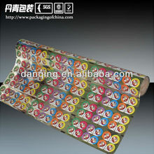 Chuangdong Custom Printed PVC&PS Sealing Film For Jelly Cup