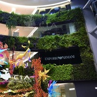 Artificial Eco Wall Plastic Vertical Planting