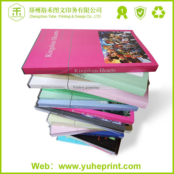 2019 high quality professional printing perfect binding vernishing surface finishing children hardcover my hot book