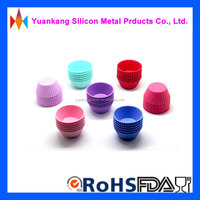 Trade Assurance Supplier! New Design cupcake liners,DIY silicone cake molds/FDA cup cakes