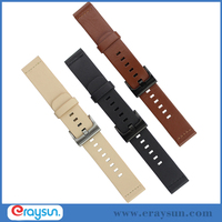 Genuine Leather Band Strap For Motorola Moto 360 2nd Gen Smart Watch 42mm 46mm