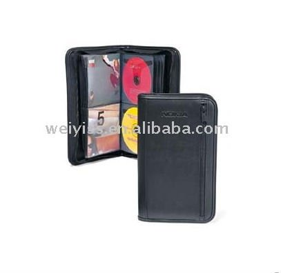 leather single CD case/ CD wallet WFD-C050408