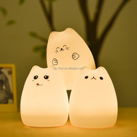 High quality cheap price l USB silicone night light changing night light