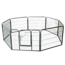 8 pannels heavy duty wire mesh dog exercise enclosure