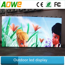 10mm pixel pitch P10 outdoor led digital sign board display with cheap price
