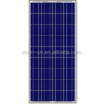 Poly solar cell panel 150w with A grade solar cells for led street lights and home use