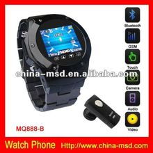 2012 watch mobile phone with 4GB TF card