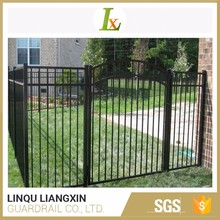 Africa Market Oriented Aluminum Strong Customizability Door Iron Gate Design