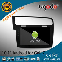 Android 10.1 inch HD touch screen 2 din dvd for vw golf 7 left hand drive