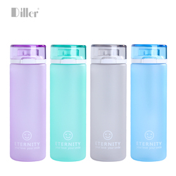 Eco-Friendly Feature custom logo shaker frosted sport plastic bottle