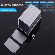 63x38-D mm aluminum extruded customized junction enclosure box/case/cabinet
