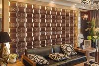 Fashion Designs Bedroom 3D Leather Wall Panel KTV Decorative Wall Tile Hotel Wall Covering