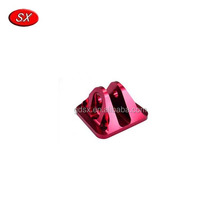Aluminum 6061 CNC Strong Milling Machining Red Anodized Spare Parts
